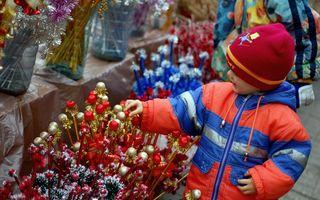 Sfântul Nicolae, Moşul care umple ghetuţele cu daruri sau cu o nuieluşă, serbat sâmbătă
