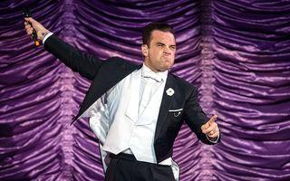 Robbie Williams va cânta în Bucureşti, în 2015