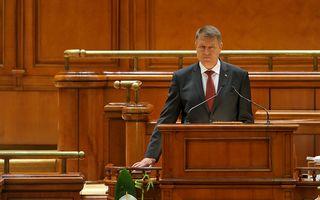 """Iohannis a depus jurământul în Parlament: """"Voi fi preşedintele tuturor românilor"""""""