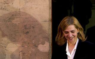 Infanta Cristina a Spaniei, trimisă în faţa unui tribunal