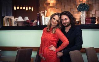 Chef Florin Dumitrescu va avea încă o fetiță