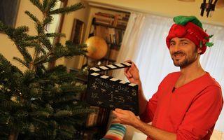 """Singur Cook încheie primul sezon cu masa de Crăciun: Andrei Aradits """"operează"""" un curcan pentru a-l umple cu ingrediente și arome exotice"""