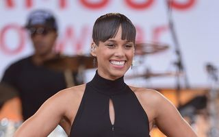 Alicia Keys a devenit din nou mamă