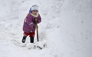 Ger în toată ţara, cu temperaturi de până la minus 25 grade
