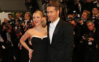 Blake Lively şi Ryan Reynolds au devenit părinţi
