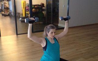 FOTO: Mirela Boureanu Vaida, o gravidă activă: Cum se menține în formă