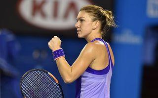 Simona Halep s-a calificat în optimile de finală ale Australian Open