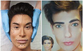Obsedaţi de oglindă: Băieții din plastic se întrec în operaţii estetice