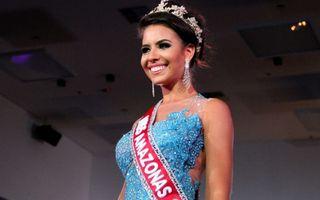 Scandal la Miss Amazon 2015: O finalistă a smuls coroana de pe capul învingătoarei - VIDEO