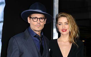 Johnny Depp s-a căsătorit civil cu Amber Heard