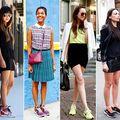 Modă: Cum să porţi pantofii sport cu orice ţinută. 50 de imagini