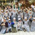 Elevi din ciclul primar din Bucureşti şi Cluj-Napoca - expediţie în magazine, pentru a decoperi secretele piramidei alimentare
