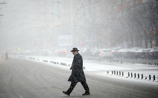 Se întorc ninsorile: Zonele care vor fi afectate