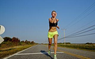 Alergările uşoare sunt ideale pentru sănătate