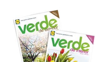 """Te bucuri un an întreg de grădina ta de afară sau din locuinţă cu sfaturile practice din catalogul Lidl - """"Verde"""""""