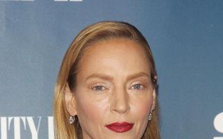 """Uma Thurman nu a făcut operații estetice: Actrița a fost machiată în stilul """"efortless parisienne chic"""""""