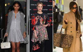 Celebritățile au participat la o expoziție de modă Louis Vuitton