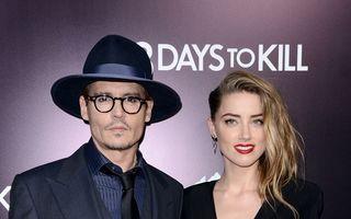 Nuntă în paradis: Primele imagini de la căsătoria lui Johnny Depp cu Amber Heard