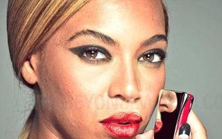 Adevărul fără Photoshop: Beyonce, cu fața plină de coșuri și cicatrici
