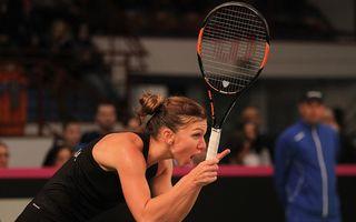 Simona Halep s-a calificat în finala turneului de la Dubai