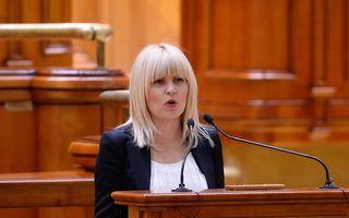 """Elena Udrea, către parlamentari: """"Am fost dezbrăcată în arestul Poliţiei Capitalei, mi s-a luat sutienul"""""""