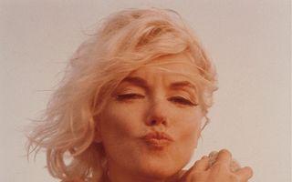 Sărutul de adio: Ultimele poze făcute de Marilyn Monroe înainte de a muri