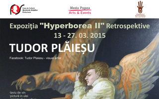 """Tudor Plăieșu """"Hyperborea II"""" - expoziţie de pictură la Casa de Cultură Friedrich Schiller"""