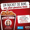 "Hot Bucket de la KFC devine ""Bucket de bine"""