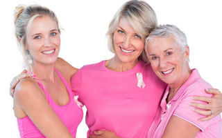 """Campania """"Oameni pentru oameni"""": depistat la timp, cancerul de sân are o rată de supravieţuire de 90%"""