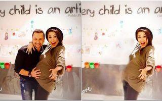 Măruță, scos din primele poze cu Andra gravidă pe un site al Intact