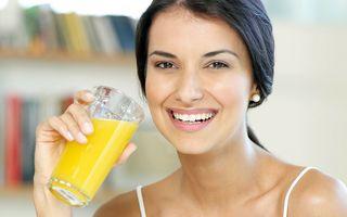 5 trucuri pentru consumul sănătos de sucuri
