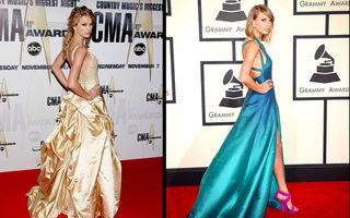 Frumuseţe. Taylor Swift, evoluţia unui star pop