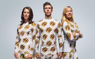 Haine cu hamburgeri: McDonald's lansează o colecţie de modă prêt-à-porter - FOTO