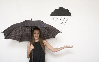 Prognoza meteo: Precipitaţii mixte şi vânt puternic în aproape toată ţara, până vineri seară
