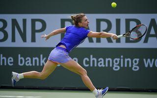 """Simona Halep s-a calificat în semifinale la Miami Open şi va juca cu Serena Williams: """"Nu am nimic de pierdut"""""""
