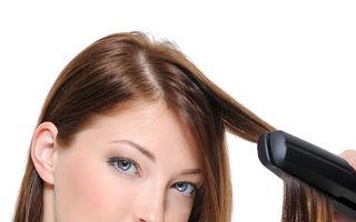Frumuseţe. 5 greşeli pe care le faci când îţi îndrepţi părul cu placa