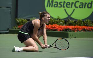 Simona Halep, învinsă de Serena Williams la Miami