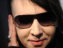 Marilyn Manson, bătut într-un restaurant