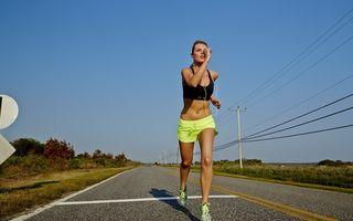 Alergarea, cel mai practicat sport de către orăşeni