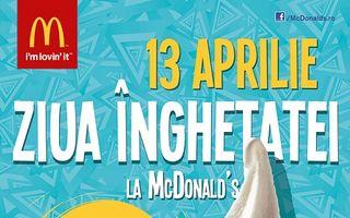 Vara începe cu Ziua Înghețatei la McDonald's