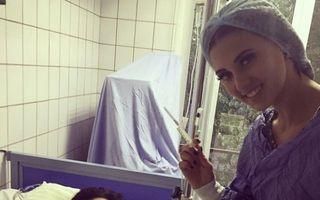 Giulia Anghelescu a născut un băieţel