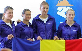 România s-a calificat între cele mai bune opt echipe de tenis feminin din lume