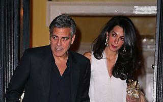 Amal Clooney este una dintre cel mai bine îmbrăcate femei de la Hollywood