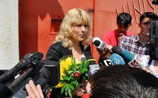 """Elena Udrea, primele declaraţii la ieşirea din închisoare: """"Mulţumesc celor care au crezut în mine"""""""