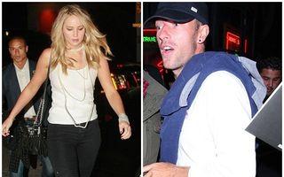 Un nou cuplu: Jennifer Lawrence şi Chris Martin, împreună la un eveniment caritabil