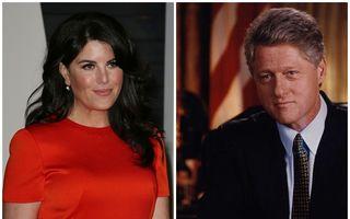 Ce ofertă a primit Monica Lewinsky! Un milion de dolari pentru rochia în care a făcut sex cu Clinton