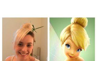 Diana Dumitrescu s-a transformat in Tinker Bell