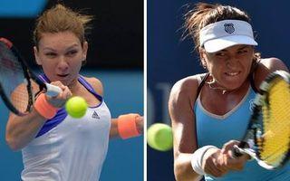 Duel românesc în sferturile de finală ale turneului de la Roma: Simona Halep-Alexandra Dulgheru