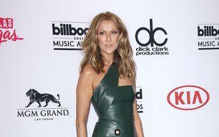 Sex appeal la 47 de ani: Celine Dion şi-a arătat picioarele pe scenă
