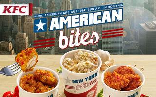 KFC aduce noi gusturi americane în România: American Bites